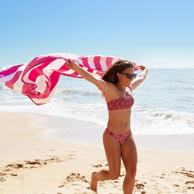 Toalla de Playa de Secado r/ápido Dock /& Bay Alfombra de Playa sin Arena y de Secado r/ápido