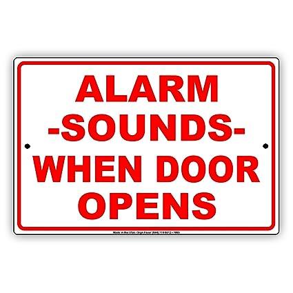 Alarma sonidos cuando la puerta se abre recordatorio de ...