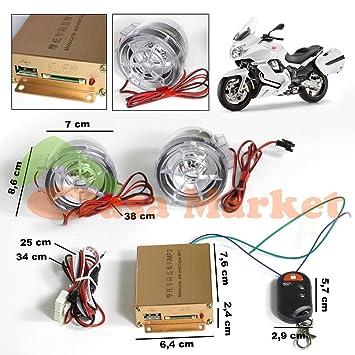 ALTAVOCES SUBWOOFER TWEETER AMPLIFICADOR DE 15W SD+USB+FM+ALARMA PARA MOTOS,