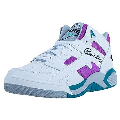 Ewing Athletics Ewing Wrap Mid White Grape Basketball Schuhe Shoes Herren  Men e79e47413