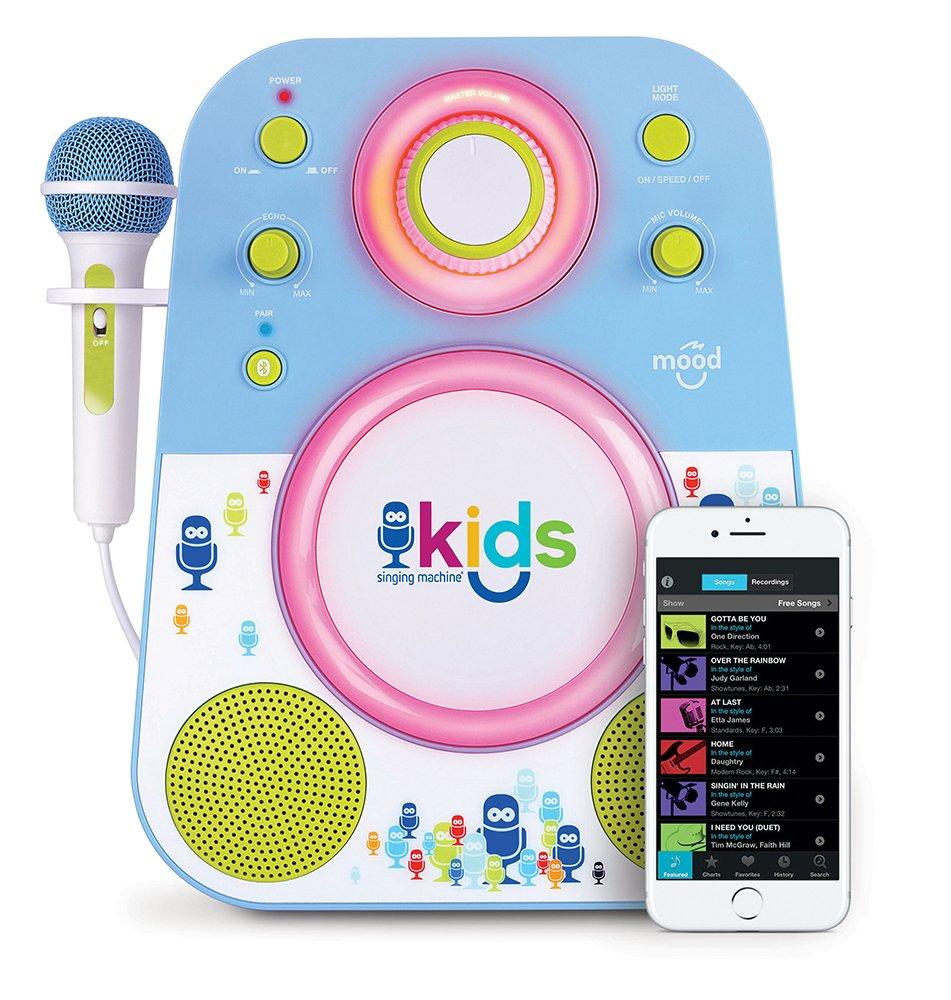 Singing Machine SMK250PP Karaoke, Viola/Rosa