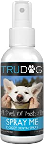 Dog Breath Freshener - Spray Me: Doggy Dental Spray (4oz) - All Natural Ingredients that Freshen Breath While Reducing Dental Plaque and Tartar Build-Up WIthout Brushing - Veterinarian Approved