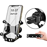 OUTAD Collapsible Car Air Vent Phone Holder Mount, All Round Protection Cell Phone Gravity Cradle Compatible with iPhone…