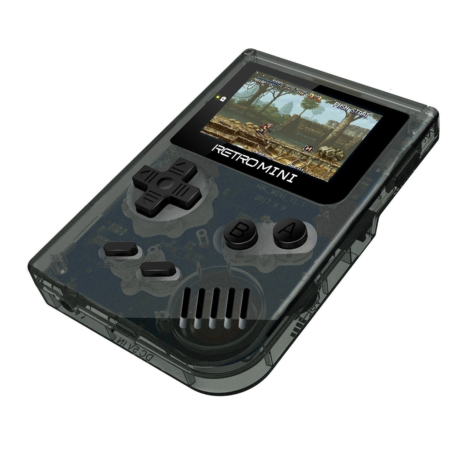 SODIAL Retro Game Console 32 Bit Portable Mini Handheld Game Players Built-in 940 for GBA Classic Games Best Gift for Kids Black by SODIAL (Image #1)