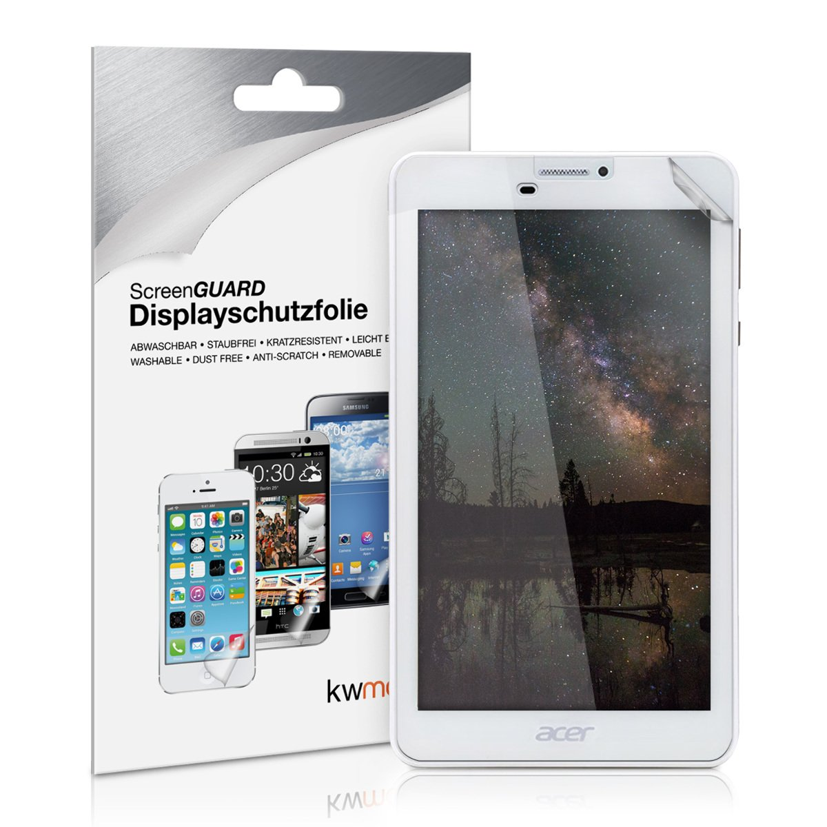 kwmobile Screen protector for Acer Iconia Talk 7 (B1-723
