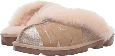UGG Womens Coquette Sparkle Gold 5 ...