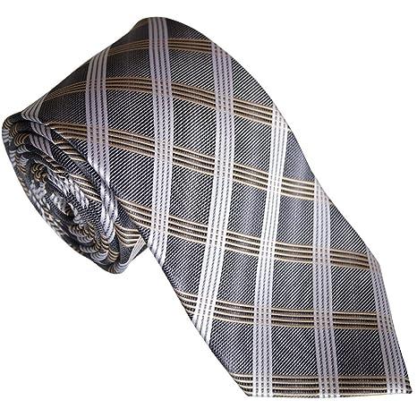 BEYTNUR - Corbata - para hombre gris gris: Amazon.es: Ropa y ...