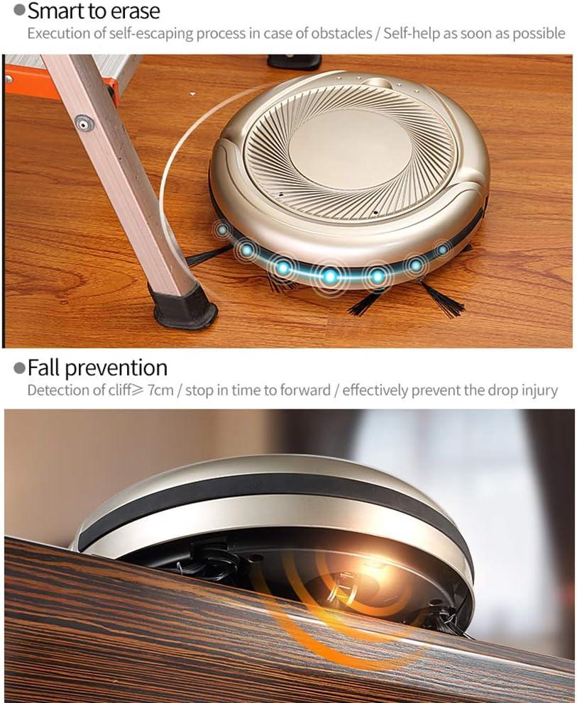 lzpq Aspiradora inteligente de barrido/robot, ojo electrónico de detección de ondas biónicas, barrido/succión/barrido/filtro/soplado de viento, limpieza/alfombra/piso/cabello: Amazon.es: Bricolaje y herramientas