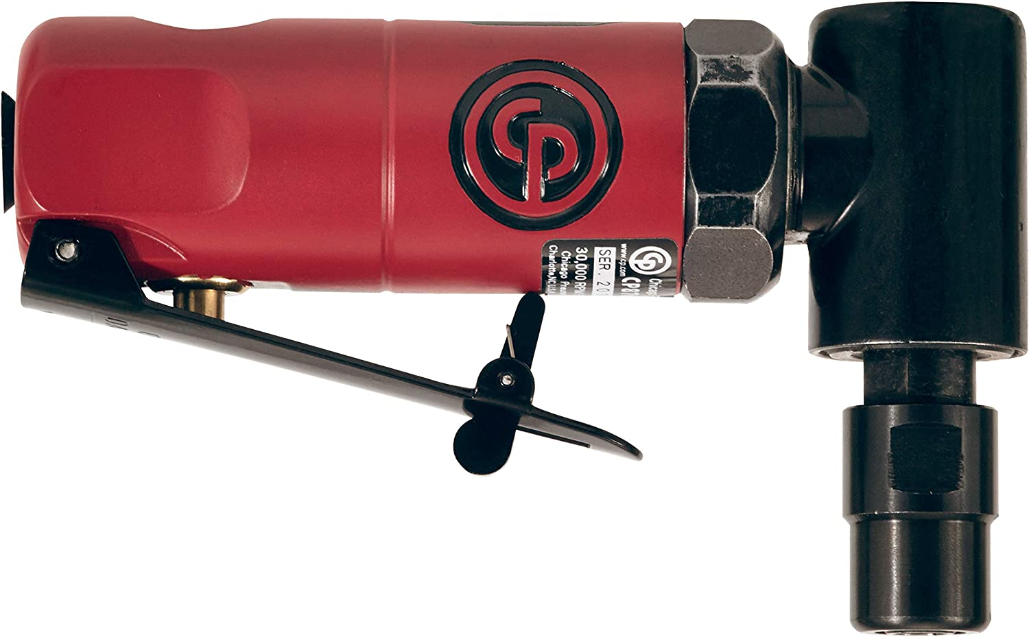 Chicago Pneumatic CP875 Pneumatic Right Angle Pistol Grip Die Grinder