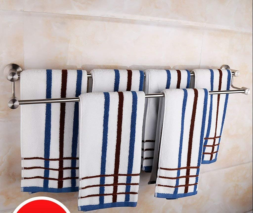 EQEQ Bath Rooms Towel Rail Rack, Towel Rails, 304 Stainless Steel Towel Racks, Towel Racks, Towel Rack Shelf (Size: 50Cm). free shipping