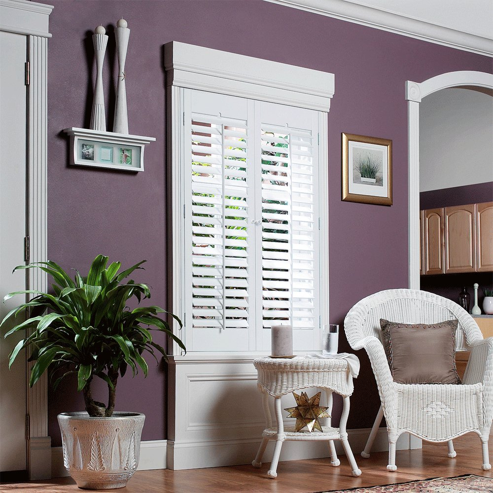 Steps to picking the right window treatment home tips - Discount interior plantation shutters ...