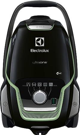 Electrolux EUO9GREEN 850 W - Aspiradora (850 W, 26,8 kWh, Aspiradora cilíndrica, Bolsa para el polvo, 5 L, Negro, Verde)