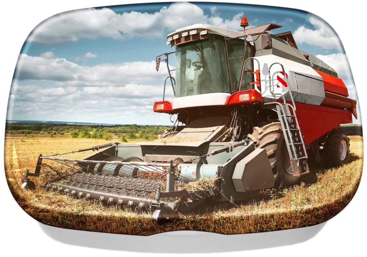 Brotdose Lunchbox Nostalgie Traktor Mähdrescher bedruckt