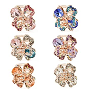 Butterfly Design Hair accessory Hair Clip with Rhinestones