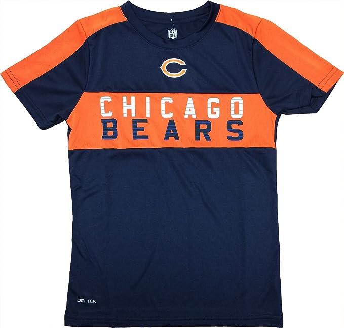 new style c8441 8bb56 Amazon.com: Chicago Bears Youth Navy Primary Logo Word Mark ...