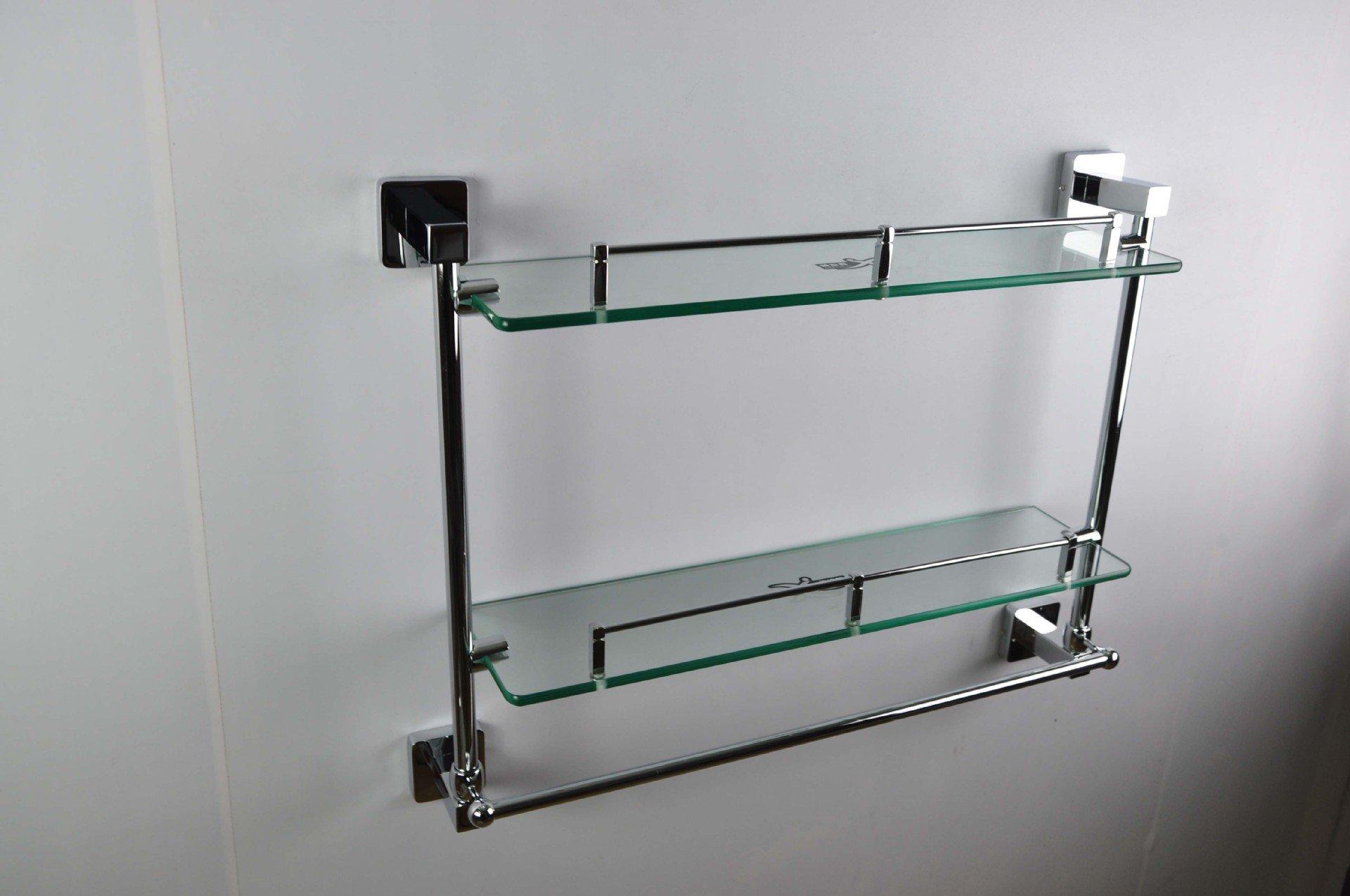 Yomiokla Bathroom Accessories - Kitchen, Toilet, Balcony and Bathroom Metal Towel Ring Pendant zinc alloy double-glazed windows built-in shelf