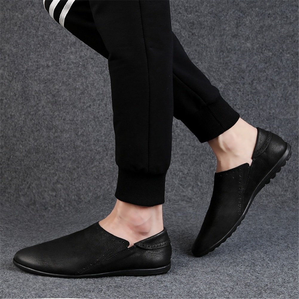 XUEXUE Mens Shoes Leather Spring Fall Driving Shoes Comfort Loafers /& Slip-Ons Driving Shoes for Athletic Breathable Casual Outdoor Formal Business Work Color : B, Size : 39
