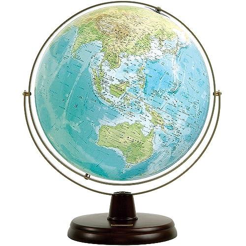 渡辺教具製作所 衛星地形地球儀WP