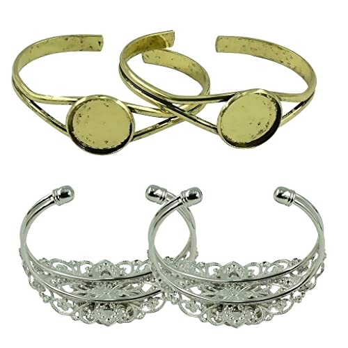 d9ec6c10719d Sharplace 8 Piezas de Muñequera Brazalete Ajustable para Mujeres ...