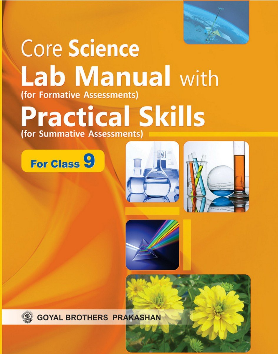 Core Science Lab Manual with Practical Skills for Class IX: Amazon.in:  Editorials: Books