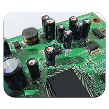 Graphics and More Circuit Board - Resistors Processors Mouse