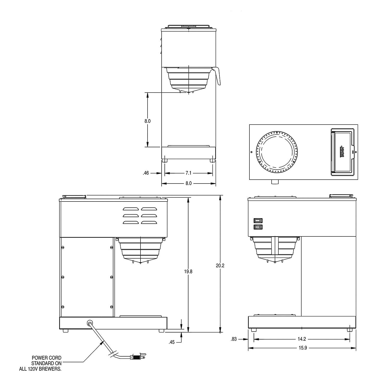 Ssl Wiring Diagram Puch Bunn Hg Diagrambunn Diagramsimages Na Images Amazon Com