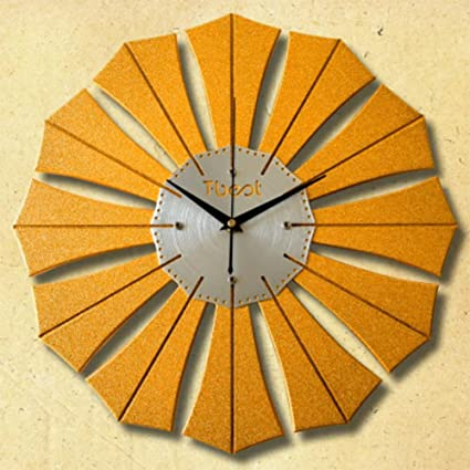 Amazon LIU Creative Wall Clock Modern Minimalist Art Change