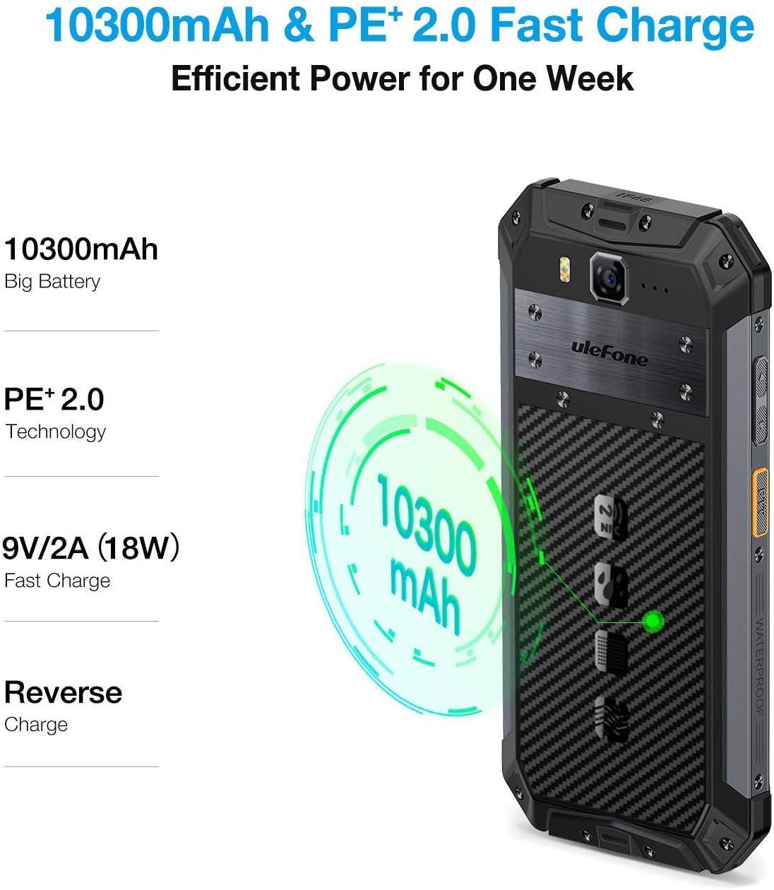 Amazon.com: Armor 3 - Smartphone de exterior 5.7 FHD ...