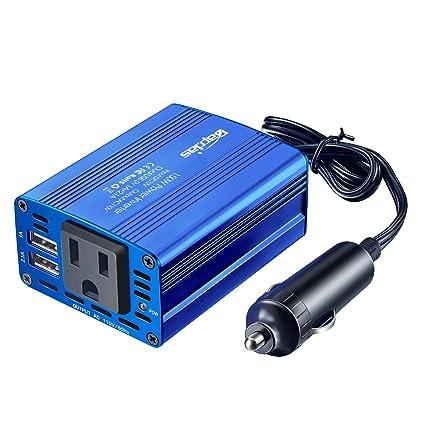 Amazon.com: Bapdas - Inversor de corriente de coche de 150 W ...