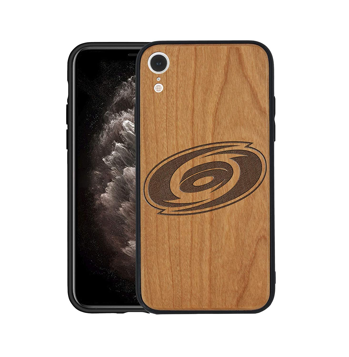 10r Customize Hurricanes Phone Case Wooden Compatible with iPhone Xr