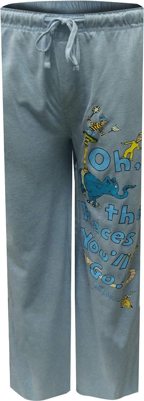 Dr. Seuss Men's Oh The Places You'll Go Lounge Pants