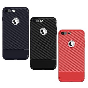 Yokata 3 Packs Funda iPhone 7 Plus Funda iPhone 8 Plus ...