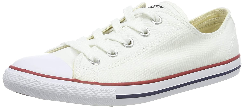 Converse 537204C - Zapatillas de deporte, Blanco (White), talla 37.5 EU