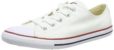 4fbbf84c9652 Converse Women s Dainty Canvas Low Top Sneaker White 5.5 ...