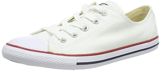 502a167e6af6 Amazon.com  Converse All Star Dainty Ox Womens Sneakers White  Shoes