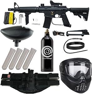 Action Village Tippmann US Army Alpha Elite Foxtrot Paintball Gun Package Kit