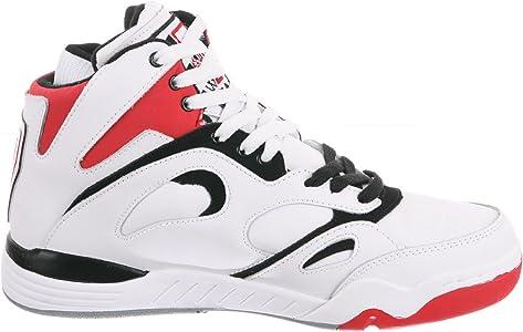 Fila Mens Kj7 Ankle-High Leather Basketball Shoe: Amazon.es ...