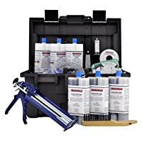 RadonSeal PRO Foundation Crack Injection Toolkit (30 ft) – The Professional Concrete Crack Repair Kit