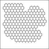 CRAFTERS WORKSHOP Crafter's Workshop Template, 6 by 6-Inch, Mini Chicken Wire