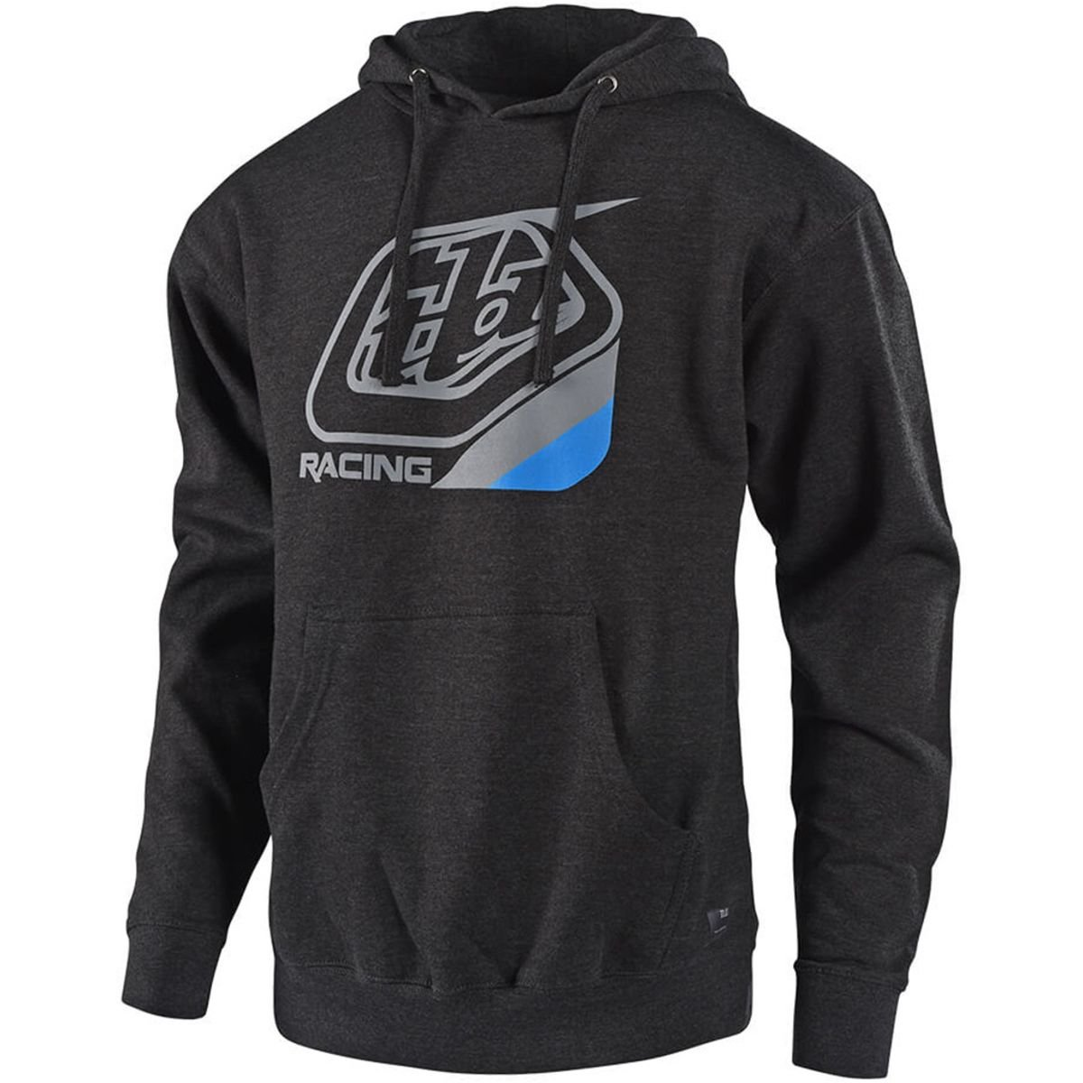 Troy Lee Designs Precision Pullover Hoodie-Charcoal Heather-M