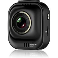 PAPAGO Car Dash Camera GoSafe 535 Super HD Dash Cam 1296P Car DVR , Car Cam, Night Vision ,Free 8GB Micro SD Card GS5358G