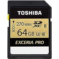 Toshiba Thn-N501G0640E6 Exceria Pro 64Gb Sdxc Uhs-Ii U3 270/250