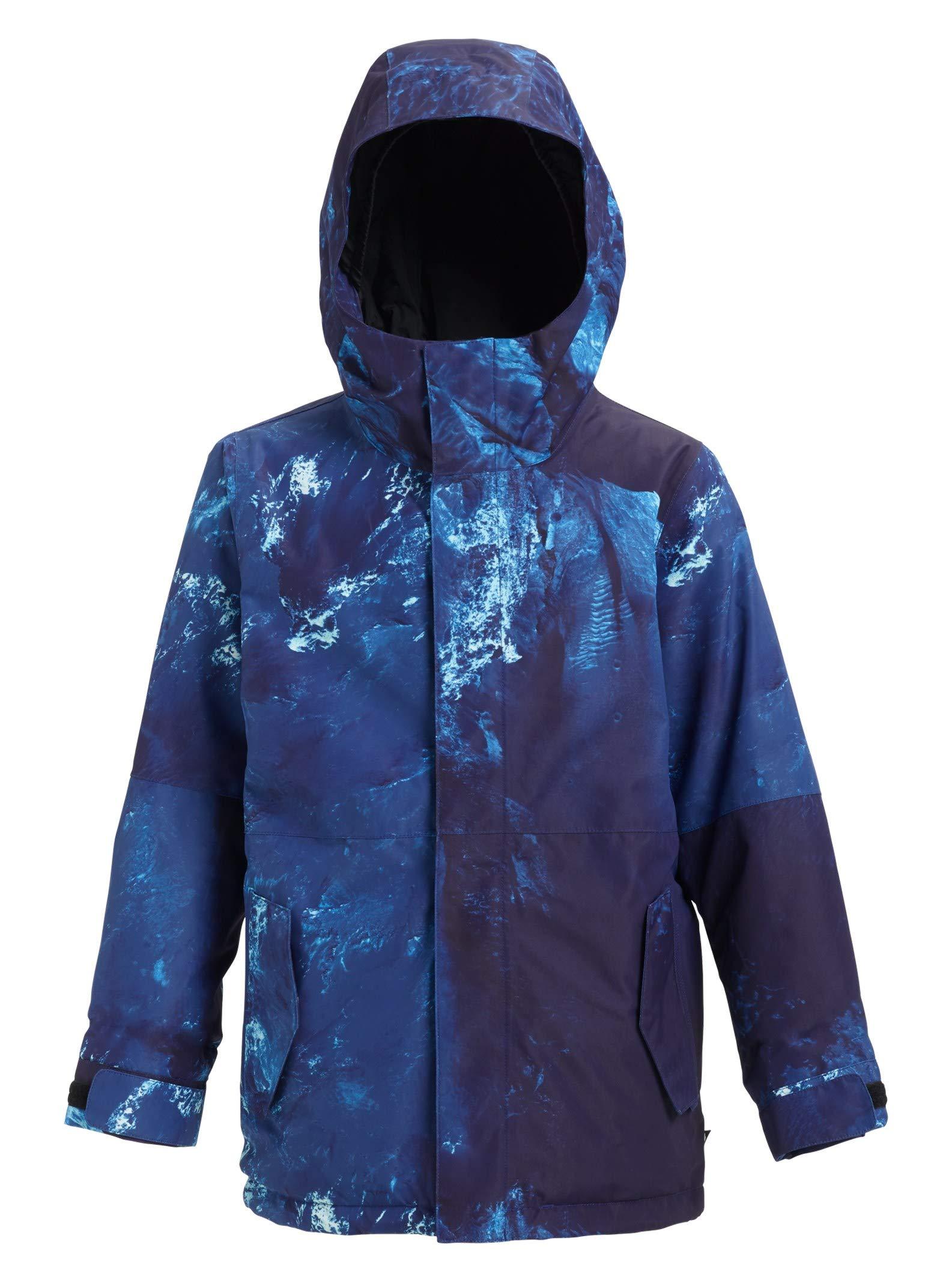 Burton Kids' Gore-Tex Stark Jacket, Nix Olympica, Medium