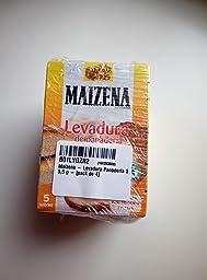 Maizena - Levadura Panadería 5 x 5,5 g: Amazon.es