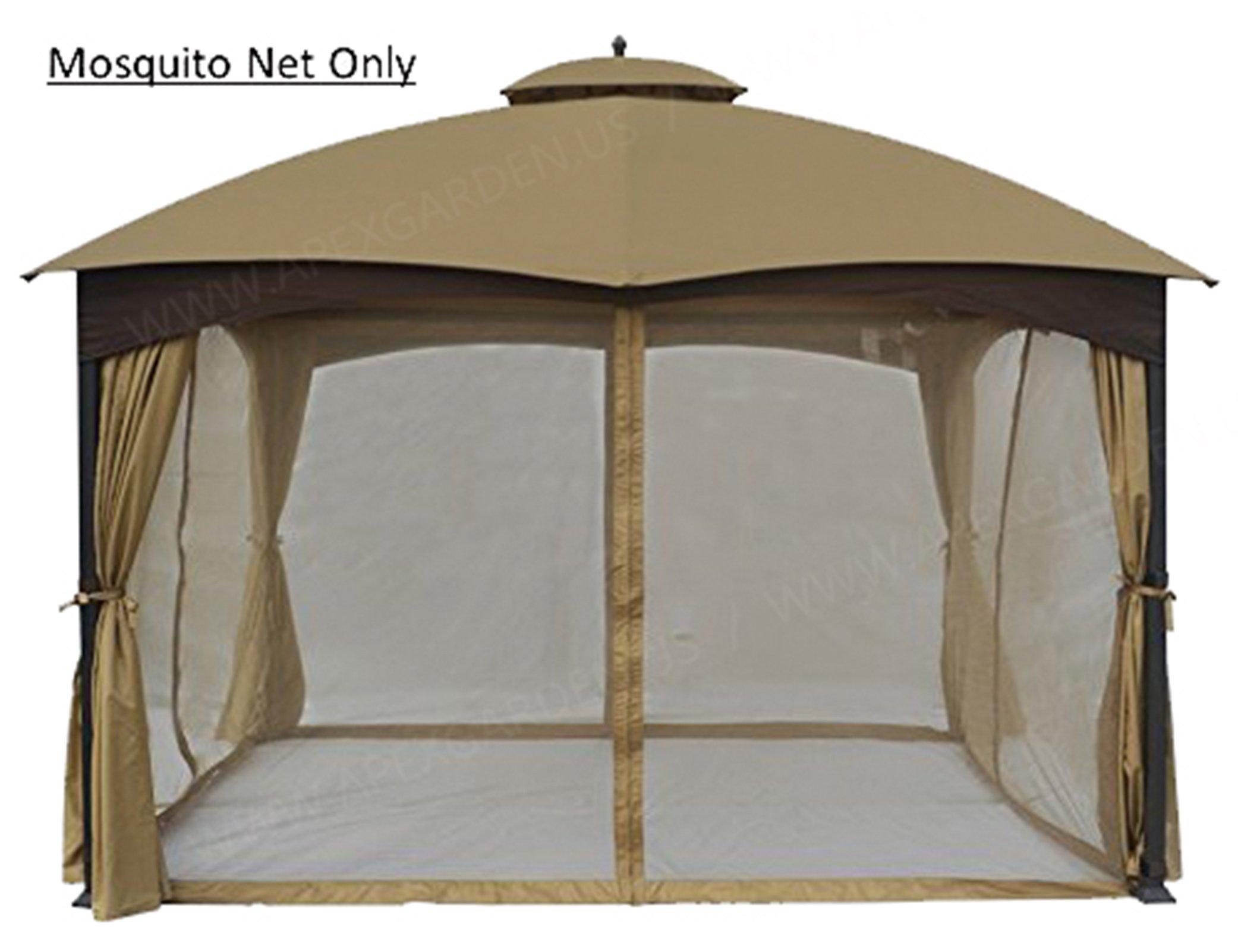 APEX GARDEN Universal 10' x 12' Gazebo Replacement Mosquito Netting