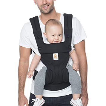 Ergobaby 360 All Position Baby Carrier With Lumbar Support 12 45 Pounds Pure Black Baby