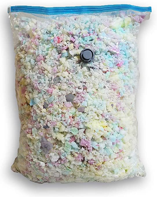 Dog Beds,Cushions Five Diamond Collection 5 LBS of New Shredded Memory Foam Fill for Pillows,Bean Bags//Chairs