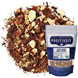 Positively Tea Company, Organic Blood Orange Vanilla Rooibos Tea, Loose Leaf, 4 Ounce