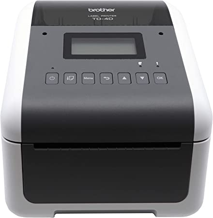 Brother TD4550DNWB 4-inch Thermal Desktop Barcode and Label Printer