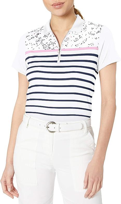 Callaway Performance Short Sleeve Printed Polo Shirt, Mini ...